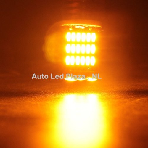HOT: BA15S 45x 4014SMD LED oranje