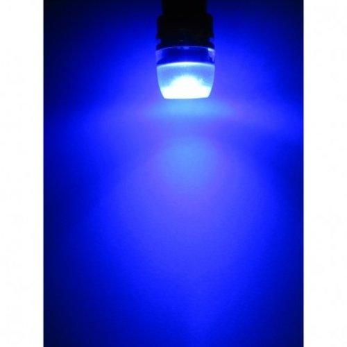 (new) W5W T10 1W highpower glow-head LED blauw