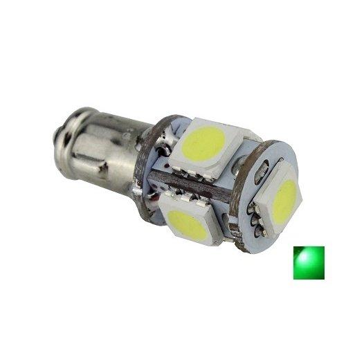 BA7S 5X 5050SMD LED groen 12v