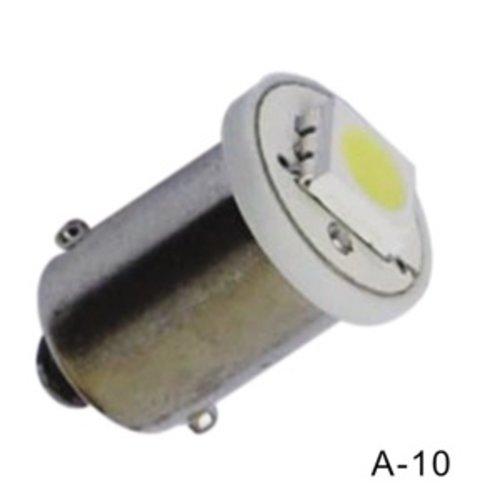 BA9S / H6W 1 LED SMD 5050 wit