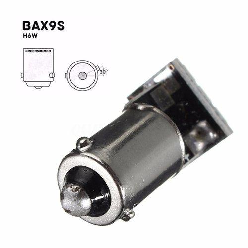 BAX9S H6W 9x 1206SMD LED wit