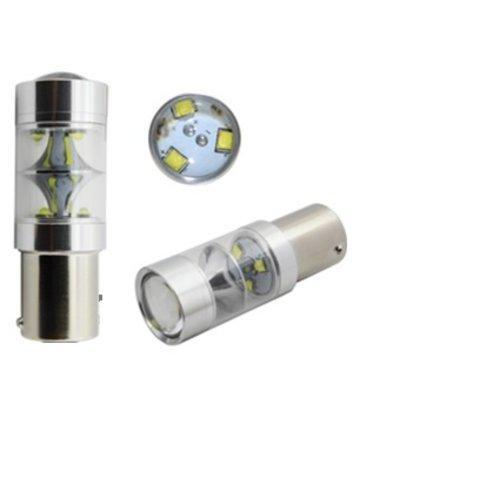 BAY15D 45W 9x Cree highpower LED xenon wit