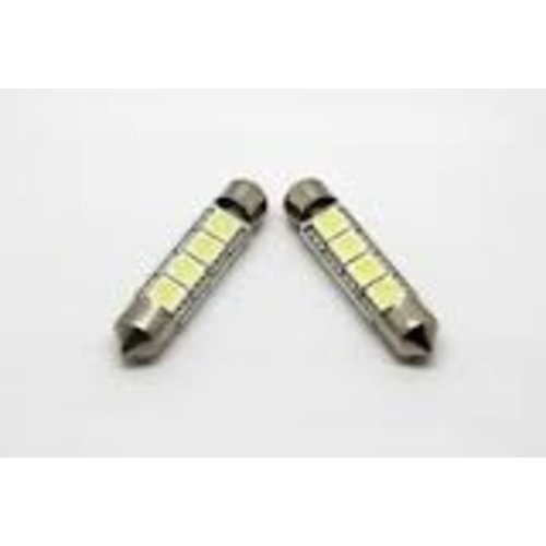 C5W 4 LED SMD 5050 42MM Canbus
