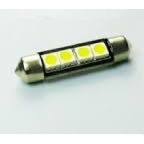 C5W 4 LED SMD 5050 42MM Canbus zonder koelribben