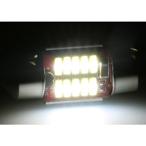 C5W Festoon 31mm 10x 4014smd Canbus