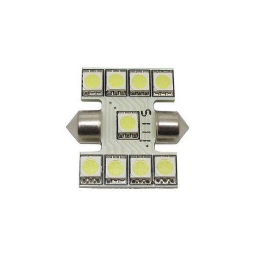 C5W Festoon 31mm 9x 5050SMD LED xenon wit