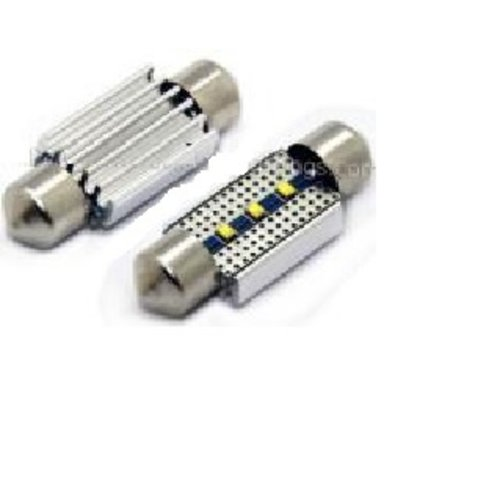 C5W Festoon 42MM 3x ZES LED chip Canbus