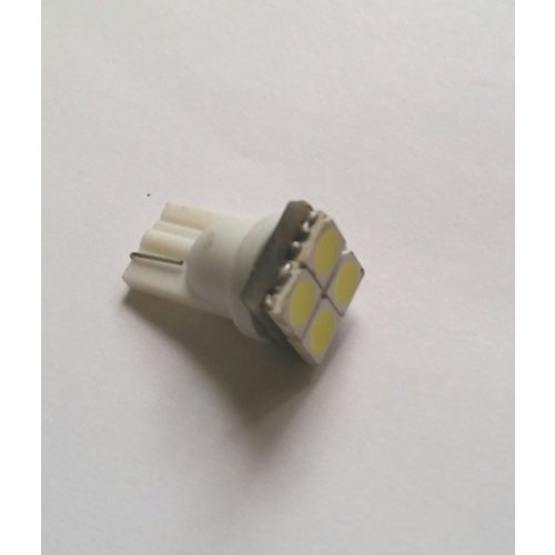 T10 4x 5050SMD LED xenon wit