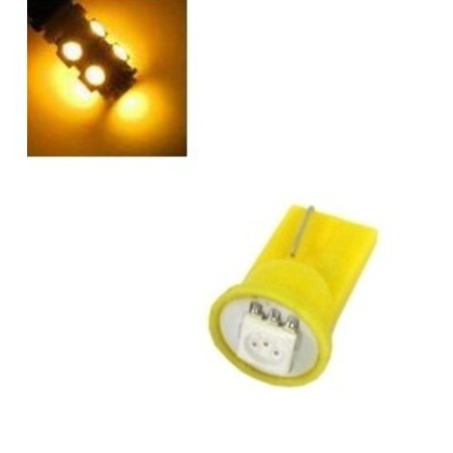 T10 W5W 1 LED SMD 5050 geel/amber