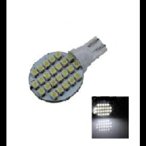 T10 W5W 24x 3528SMD LED eenzijdig