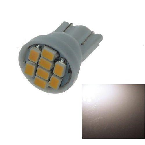 T10 W5W 8x 1210SMD LED 3500K warm wit