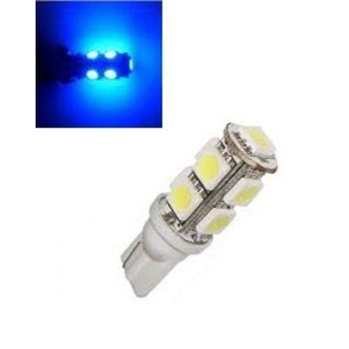 T10 W5W led 9x 5050 SMD blauw