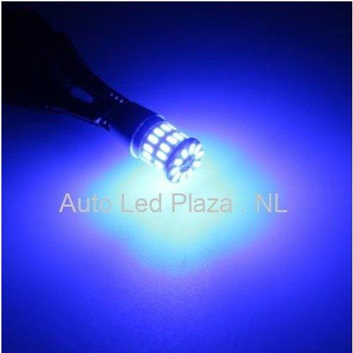 T10 W5W 3014SMD 36x LED Blauw