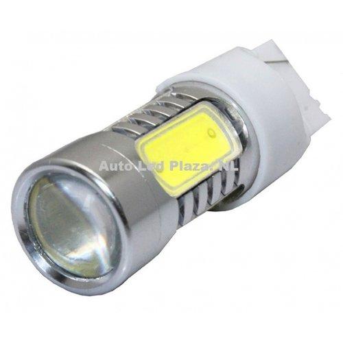 T20 7440 7,5W COB high power led xenon wit