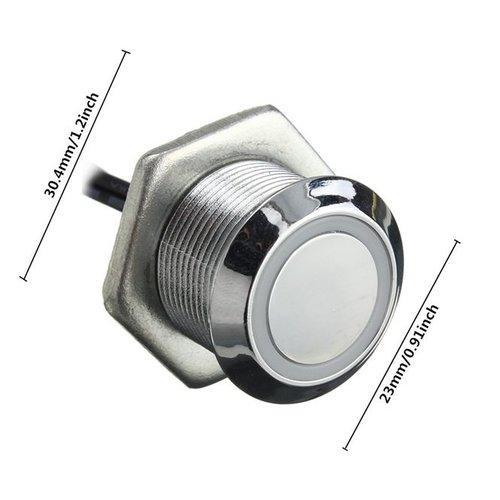 Tiptoets LED touch button met dim functie blauw