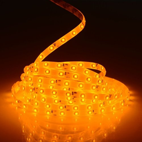 Auto 12V Led strip 5m Geel/amber