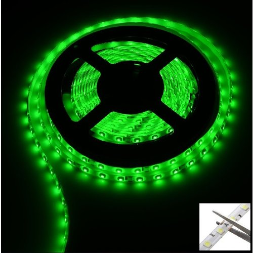 Auto 12V Led strip 5m groen