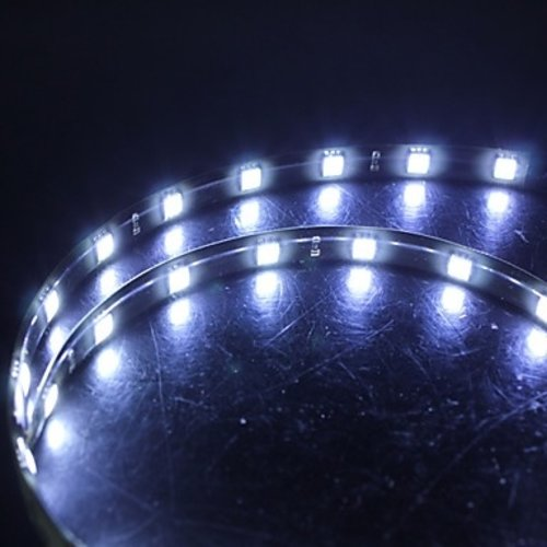 Auto 24V Led strip 30cm Xenon wit