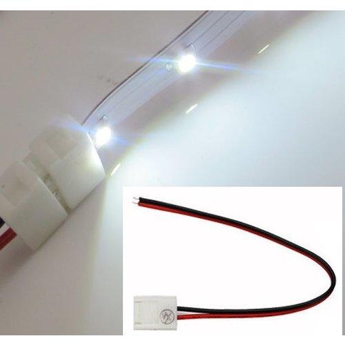 LED strip klem 2 polig incl. 15cm draad