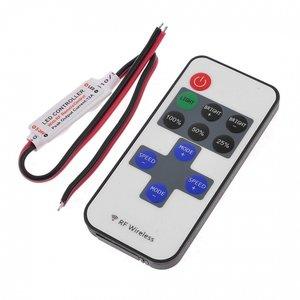Ledstrip / ledlamp flash/dim/strobe incl. remote controll