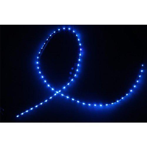 Side shine ledstrip 60cm 30leds blauw
