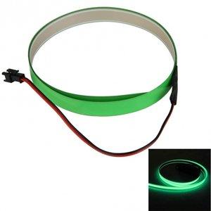 12V Neon EL-strip fluor groen