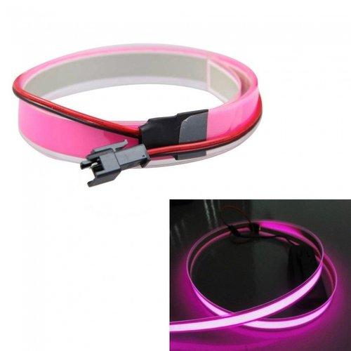 12V Neon EL-strip pink/paars