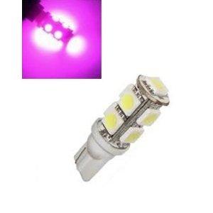 24V T10 W5W led 9x 5050 SMD LED roze/pink