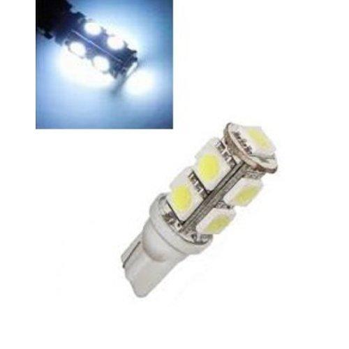 24V T10 W5W led 9x 5050 SMD LED Wit