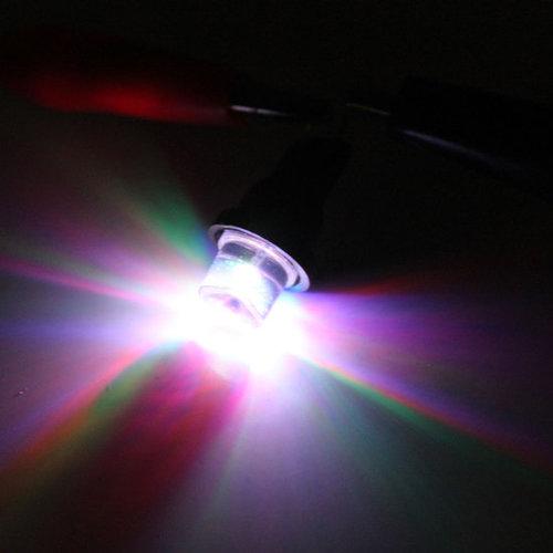 T10 W5W 24Volt 1x LED wijd licht : multi kleur
