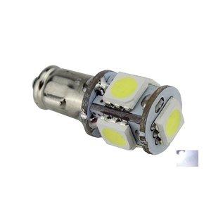 BA7S 5X 5050SMD LED xenon wit 6V