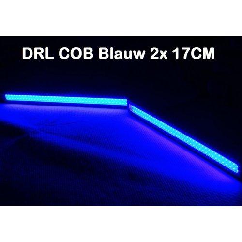 DRL COB 17CM Blauw 2x