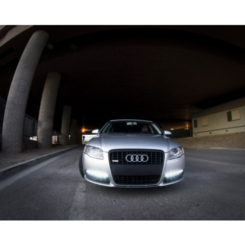 DRL set 2x 9 Cree highpower LED voor o.a. Audi A6