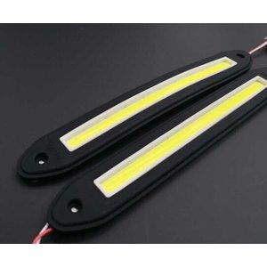 Flexibel COB LED DRL 26x3cm Xenon 6500K wit