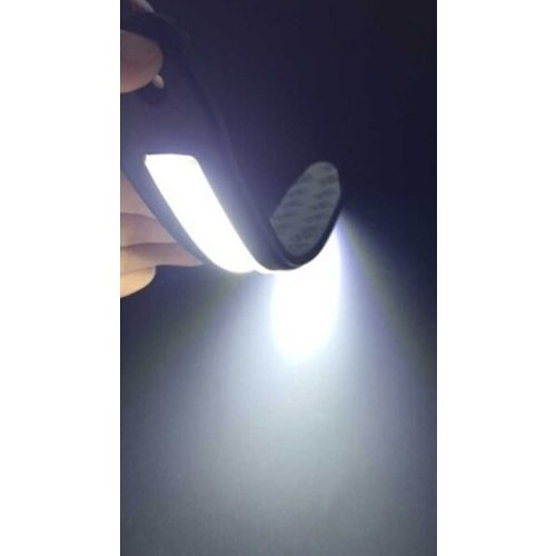 Flexibel COB LED DRL 26x3cm Xenon 6500K wit
