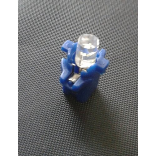 B8.3D 1 led plat blauw