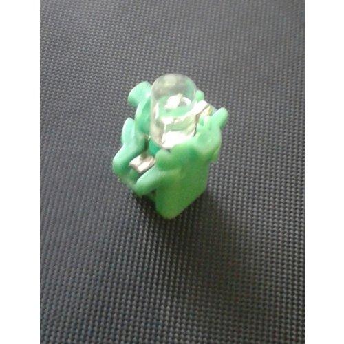 B8.3D 1 led plat groen