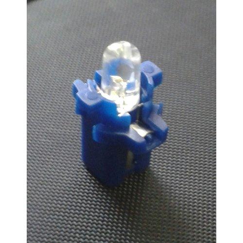 B8.3D 1 led rond blauw