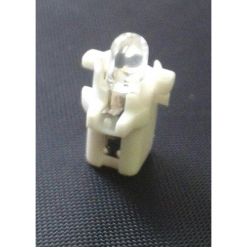 B8.3D 1 led rond wit