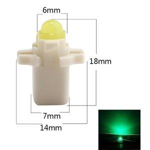 B8.3D COB Full Glow LED Groen