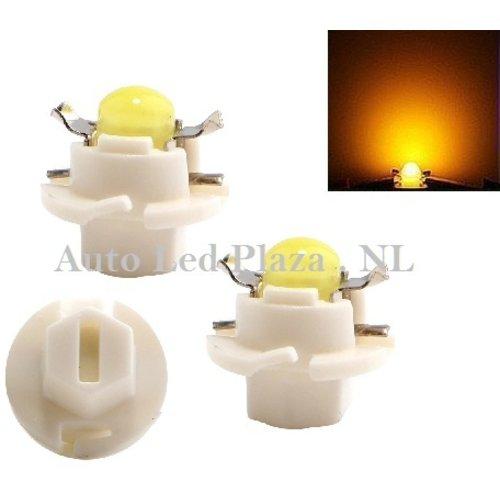B8.4D COB Full Glow LED Geel/Amber