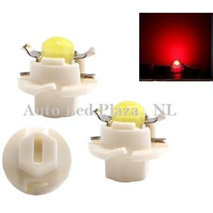 B8.4D COB Full Glow LED Rood