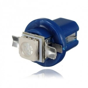 B8.5D 1D 1x LED 5050 SMD blauw