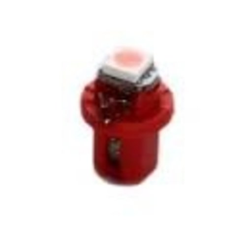 B8.5D 1D 1x LED 5050 SMD Pink Roze