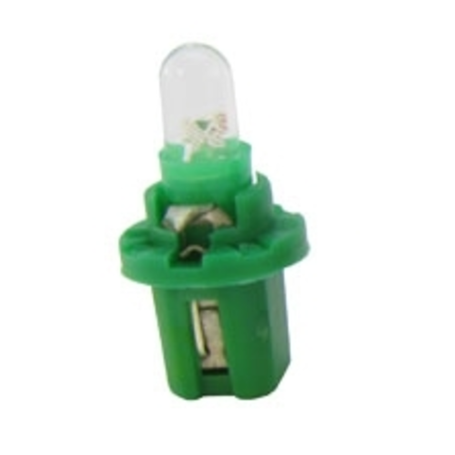 B8.5D 1x LED Rond groen