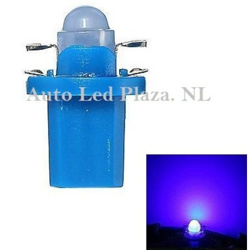 B8.5D COB Full Glow LED Blauw