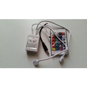 2 channel RGB controller unit incl. remote