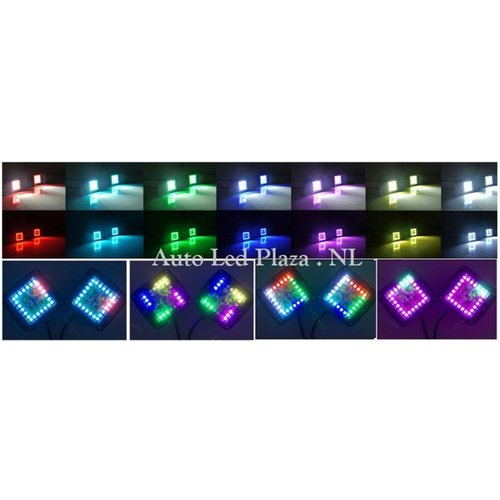 RGB dreamcolor 18W highpower Cree led spot incl bluetooth APP