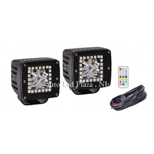 RGB dreamcolor 18W highpower Cree led spot incl remote controll