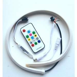 60cm rgb dream color led tube incl. remote
